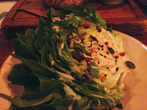 Jamie's Italian: Groene salade