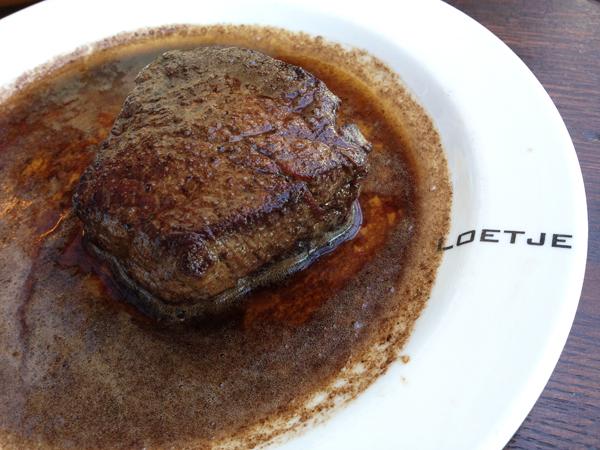 Loetje aan de Amstel: Biefstuk