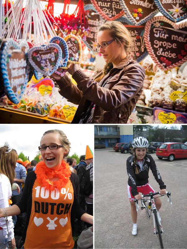 Oktoberfest (2012), Koninginnedag (2010), racefietsen