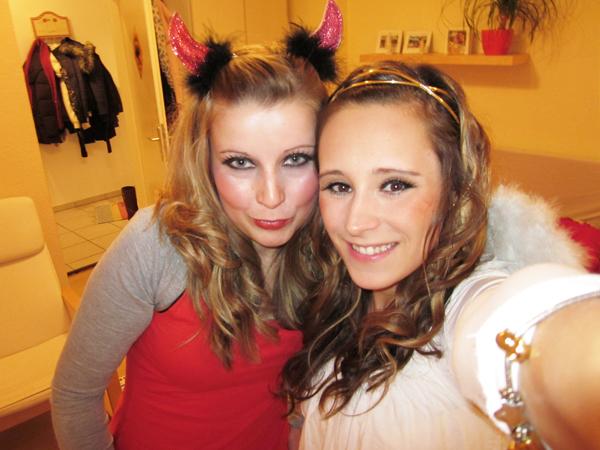Motto party: Met beste vriendin Pia