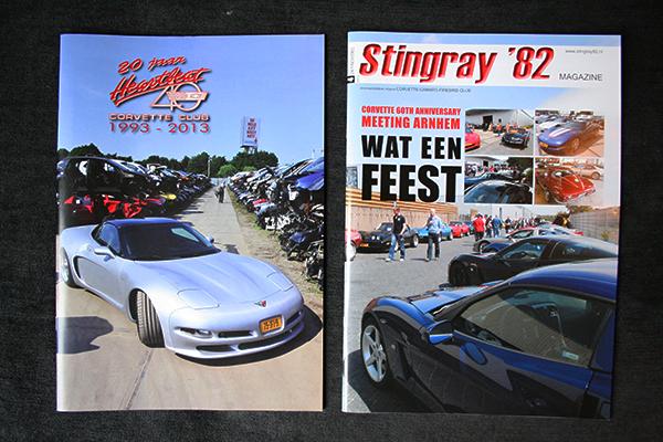 De covers van de tijdschriften