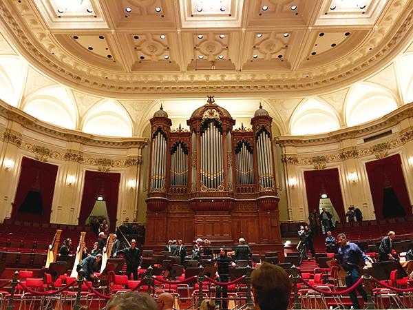 Grote Zaal in het Concertgebouw