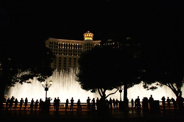 Fountain Show bij het Bellagio