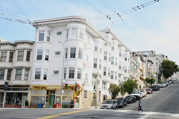 Straat in San Francisco