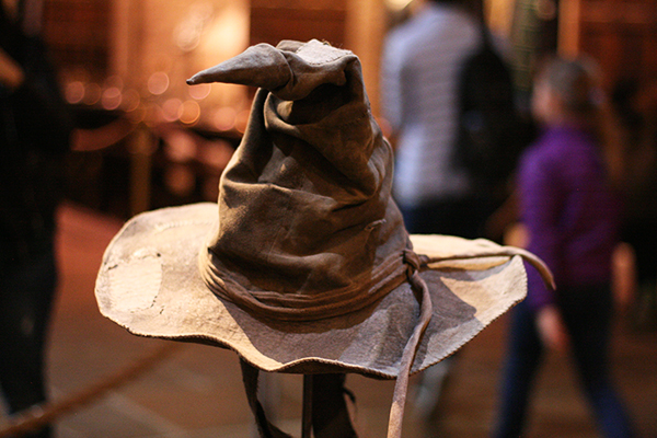 Sorting Hat @ Warner Bros. Studio Tour London