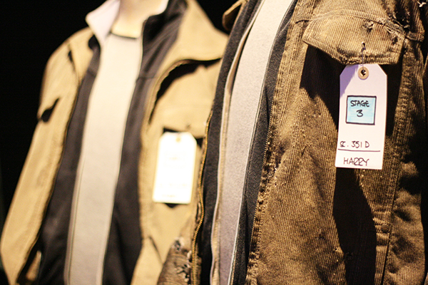 Harry's outfits @ Warner Bros. Studio Tour London